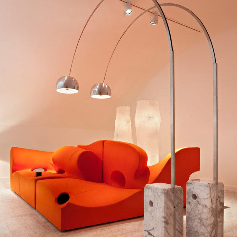 Arco floor lamp replica uk gurus floor - Arco floor lamp reproduction ...