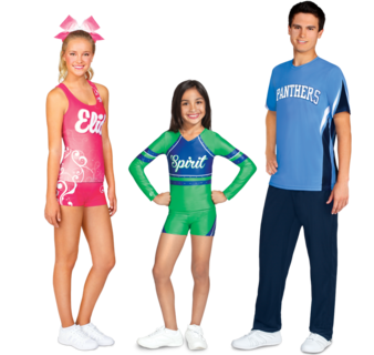 f7402899 Sublimation | Chassé Cheerleading Apparel