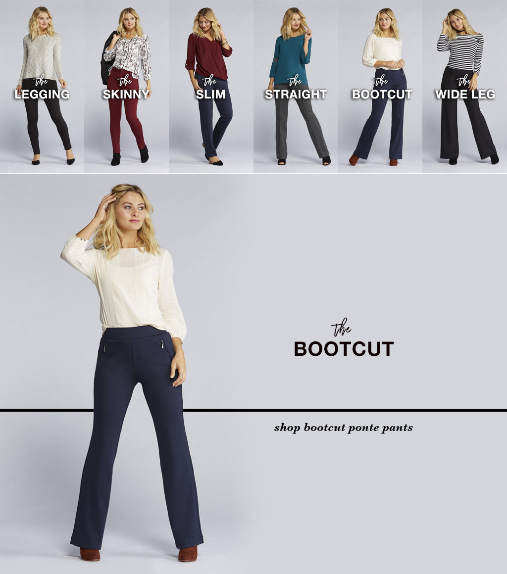 Cato fashions careers - The Ponte Bootcut