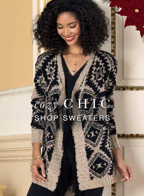 Shop Cozy Chic Sweaters And Cardigans At Cato Fashions