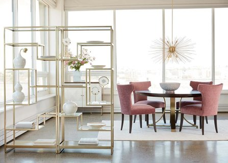 Blush But Not Bashful Pink Dining Room Ideas Ethan Allen