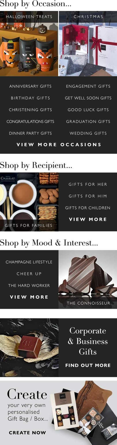 Chocolate Gifts For Everyone And All Occasions