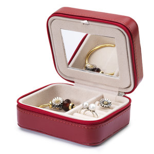 Burgundy Jewellery Box 03