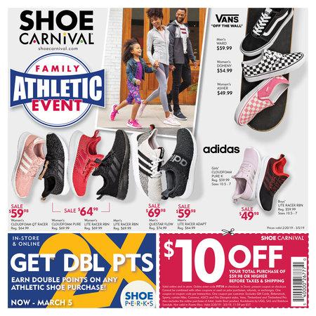 Athletic Circular 2019 | Shoe Carnival