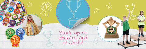 Primary School Stickers, Rewards & Certificates From TTS