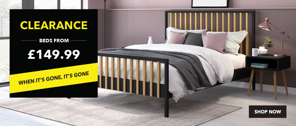 Bensons for Beds | Metal, Leather & Wooden Beds Sale Now On